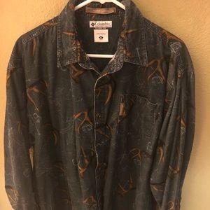NWOT Columbia River Lodge Corduroy Shirt S…